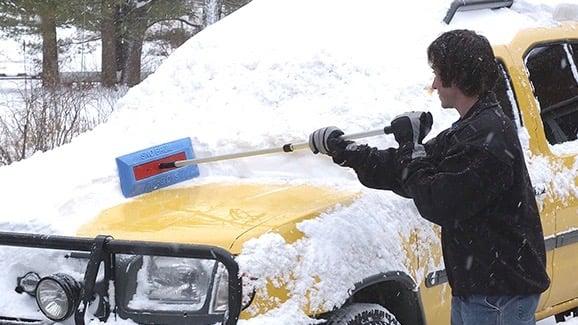 SnoBrum - best snow broom